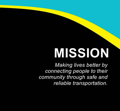 The Delaware County Transit Mission is making lives better by connecting people to their community through safe and reliable transportation